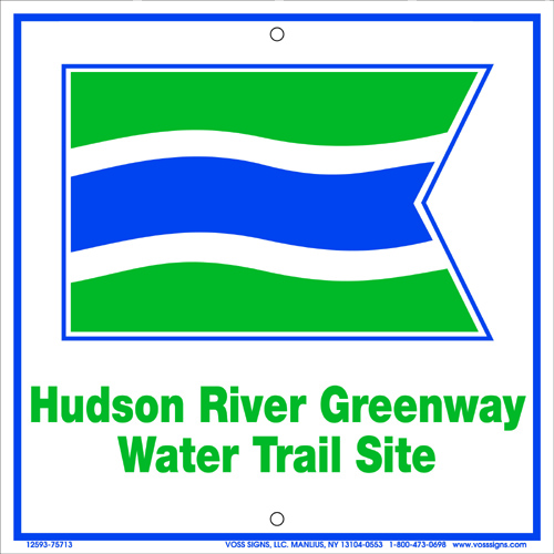 Water Trail Site Sign
